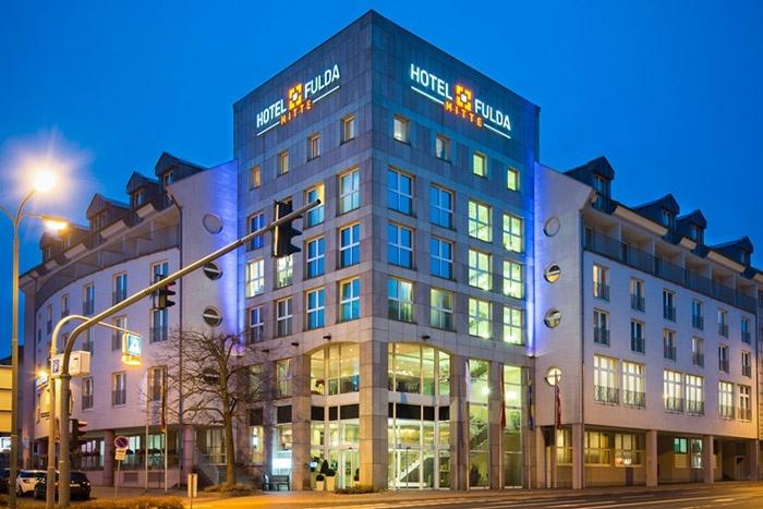 Fahrradfahrerfreundliches Hotel Fulda Mitte in Fulda