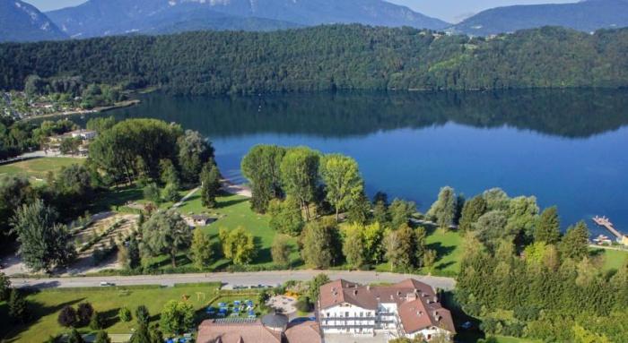Fahrradfahrerfreundliches Hotel al Sorriso Greenpark in Levico Terme