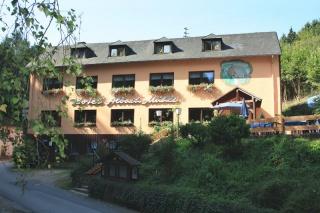 Motorrad Wald- Hotel und Landgasthof Albachmühle in Wasserliesch