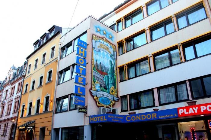 Fahrradfahrerfreundliches Hotel Condor in München
