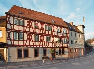Motorrad Hotel Goldener Karpfen in Aschaffenburg