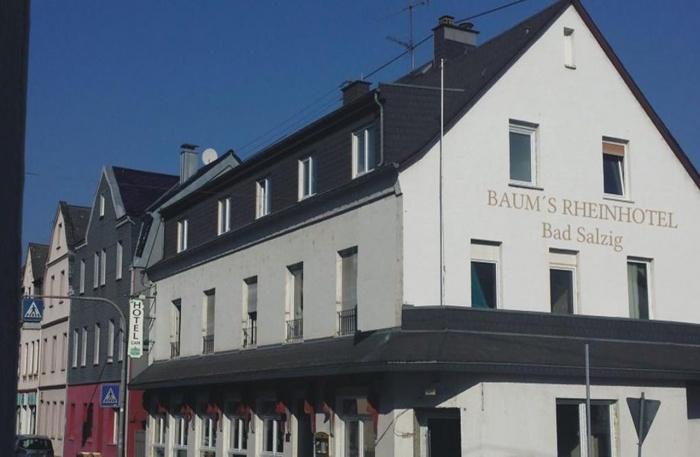 Fahrradfahrerfreundliches Baums Rheinhotel Bad Salzig in BAD SALZIG bei Boppard