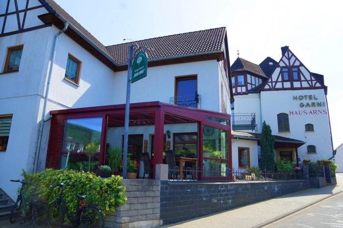 Motorrad Hotel Arns Garni Weinhaus in Bernkastel - Kues