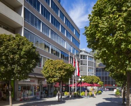 Fahrradfahrerfreundliches Hotel Visperhof in Visp