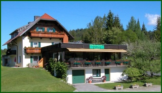 Fahrradfahrerfreundliches Kraners Alpenhof in Weissensee