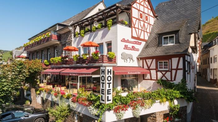 Fahrradfahrerfreundliches Moselromantik-Hotel zum Löwen in Ediger-Eller