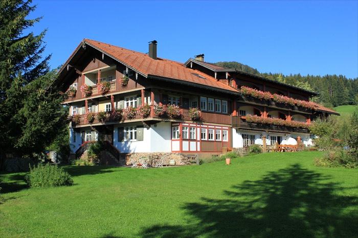 Fahrradfahrerfreundliches Hotel Mühlenhof in Oberstaufen