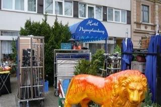 Fahrradfahrerfreundliches Hotel Nymphenburg in München