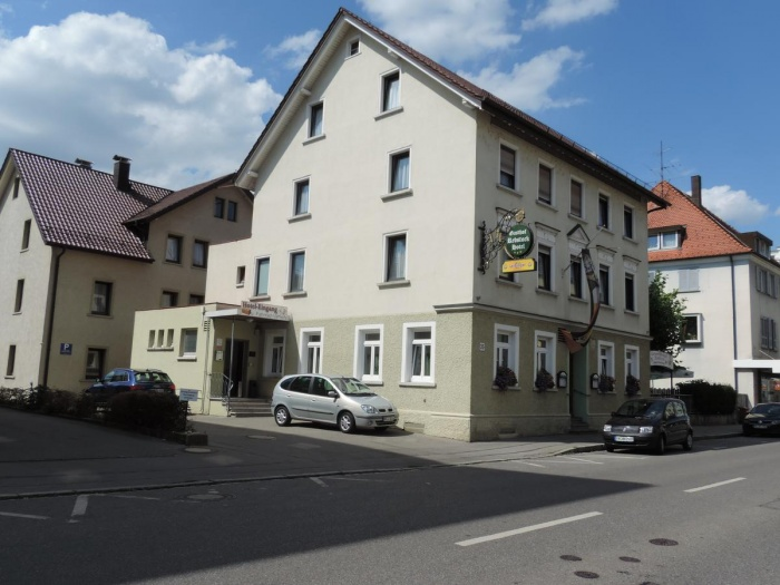 Fahrradfahrerfreundliches Gasthof Rebstock in Friedrichshafen