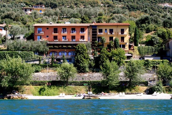 Motorrad Hotel Villa Carmen in Malcesine