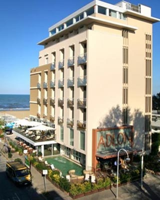 Fahrradfahrerfreundliches Hotel Adlon in Riccione (RN)