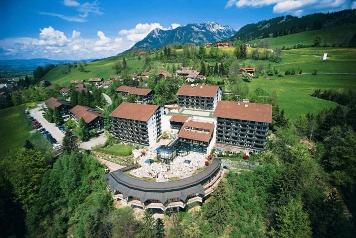 Fahrradfahrerfreundliches Allgäu Stern Hotel  in Sonthofen