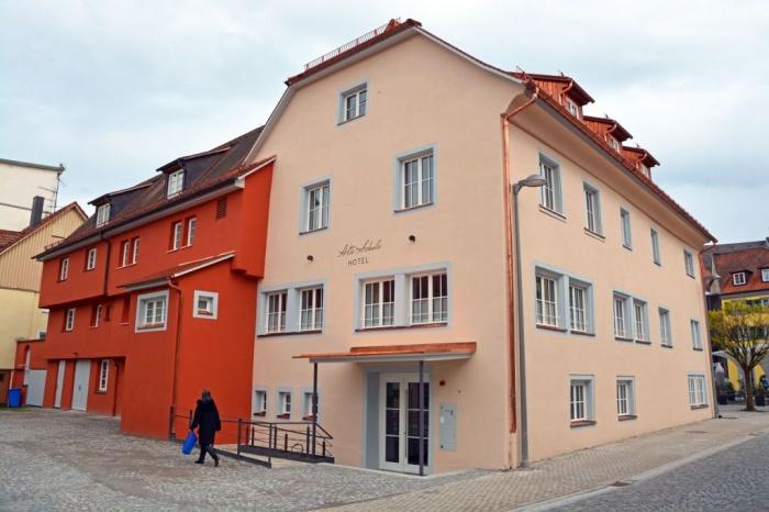 Fahrradfahrerfreundliches Hotel Alte Schule am Bodensee in Lindau