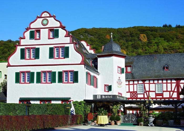 Motorrad Hotel Rheingraf in Kamp-Bornhofen