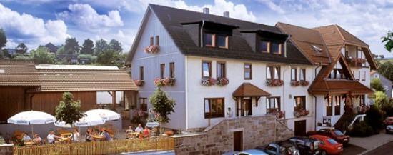 Fahrradfahrerfreundliches Landgasthof Rhönsicht in Kalbach-Heubach
