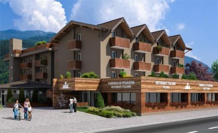 Fahrradfahrerfreundliches Hotel B612 in Levico Terme