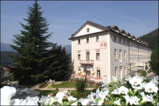 Fahrradfahrerfreundliches Grand Hotel Bellavista in Levico Terme