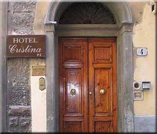 Motorrad Hotel Cristina in Florenz