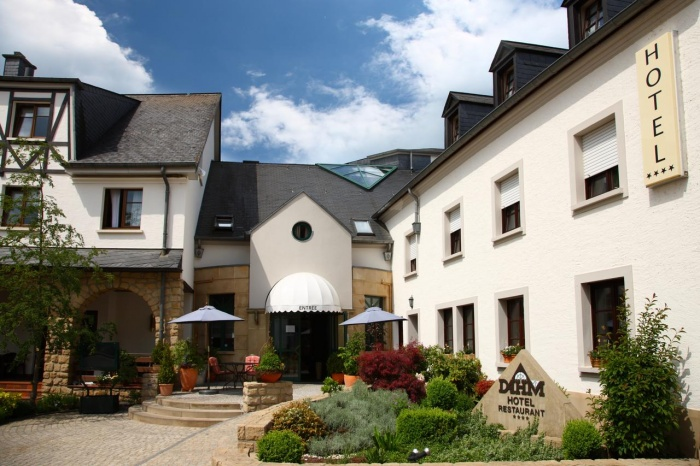 Motorrad Hotel Restaurant Dahm in Erpeldange / Ettelbruck