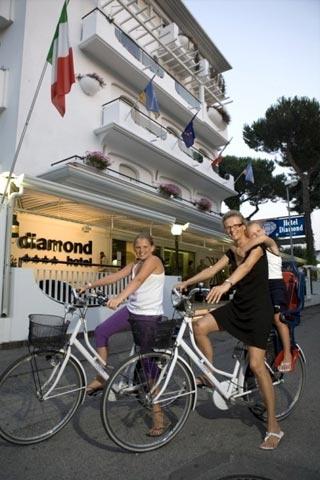 Fahrradfahrerfreundliches Hotel Diamond in Riccione (RN)