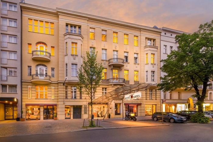 Fahrradfahrerfreundliches Novum Hotel Gates Berlin in Berlin