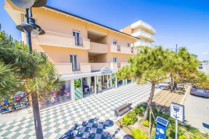 Fahrradfahrerfreundliches Hotel Giove in Cesenatico
