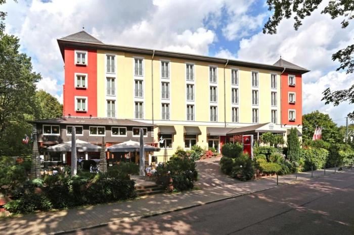 Fahrradfahrerfreundliches Dittmanns Grünau Hotel in Berlin