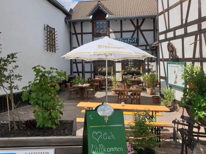 Fahrradfahrerfreundliches Halfenhof-Ramersbach in Bad Neuenahr-Ahrweiler