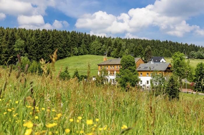 Fahrradfahrerfreundliches Landhaus Bergidyll in Bärenstein