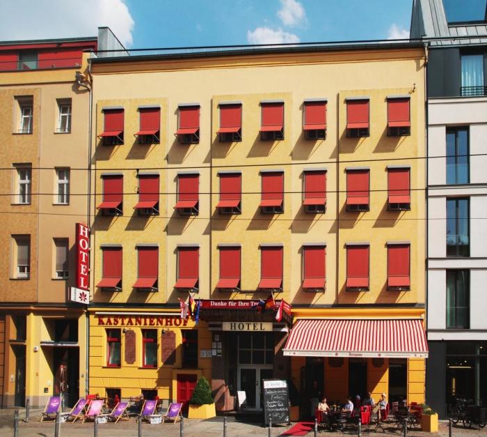 Fahrradfahrerfreundliches Hotel Kastanienhof in Berlin