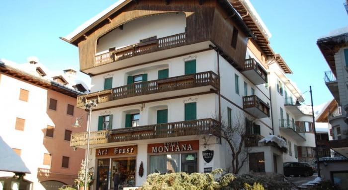 Fahrradfahrerfreundliches HOTEL MEUBLE MONTANA in Cortina d Ampezzo