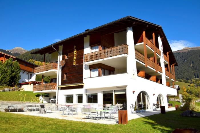 Fahrradfahrerfreundliches Hotel Pazzola in Disentis / Mustér