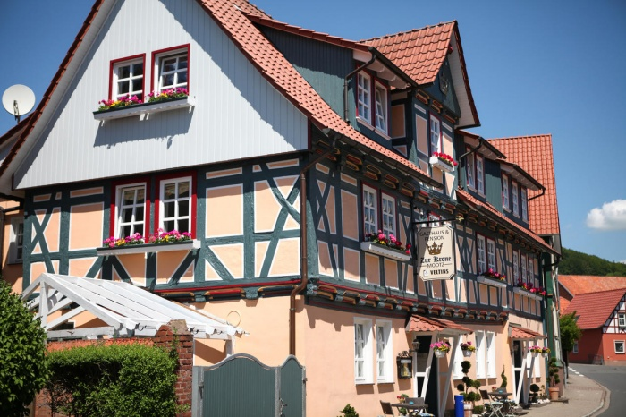 Fahrradfahrerfreundliches Hotel/Pension Zur Krone  in Martinfeld