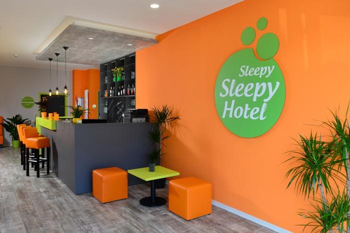 Fahrradfahrerfreundliches SleepySleepy Hotel Gießen in Linden b. Gießen
