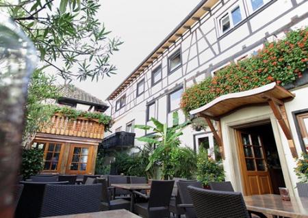 Fahrradfahrerfreundliches Hotel zum Riesen in Kandel in der Pfalz