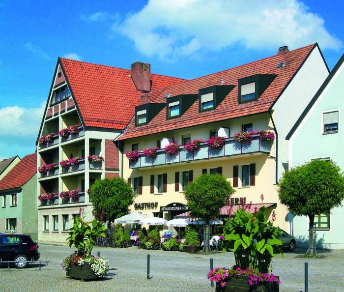 Motorrad Hotel Königsteiner Hof in Königstein