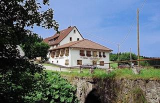 Fahrradfahrerfreundliches Gasthaus Löffelschmiede in Lenzkirch