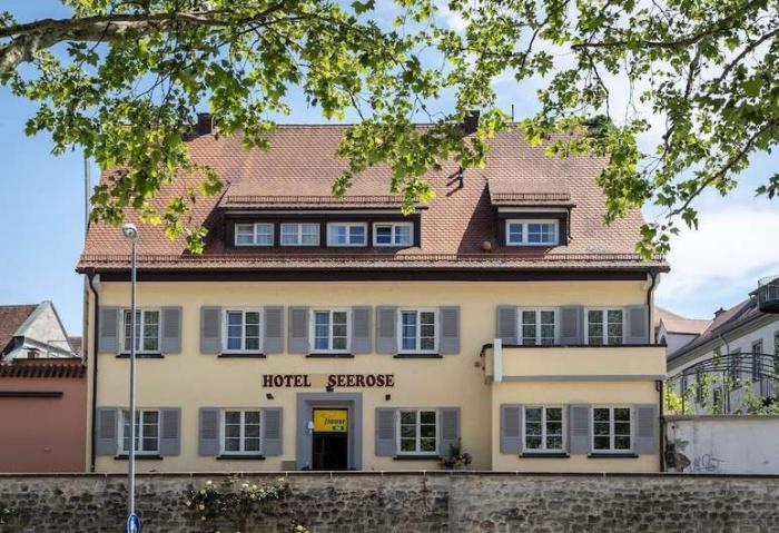 Fahrradfahrerfreundliches Hotel Seerose in Lindau am Bodensee