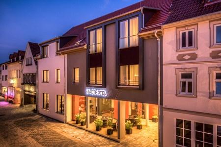 Fahrradfahrerfreundliches Stadthotel Reich in Mellrichstadt