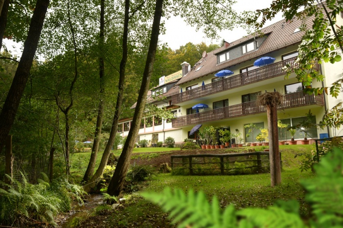 Motorrad Hotel-RestaurantWaldhaus in Mespelbrunn