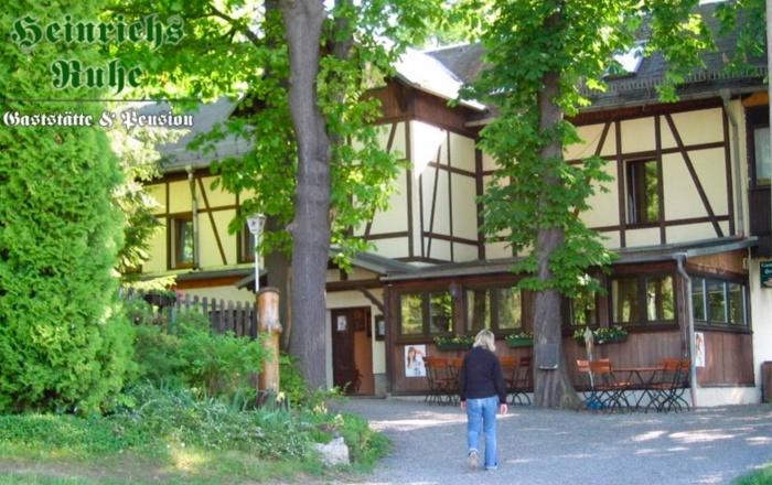 Fahrradfahrerfreundliches Hotel Heinrichsruhe in Neustadt an der Orla