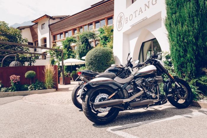 Fahrradfahrerfreundliches B&B Hotel BOTANGO in Partschins