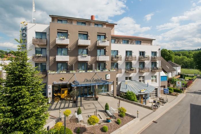 Motorrad Posthotel Rotenburg in Rotenburg an der Fulda