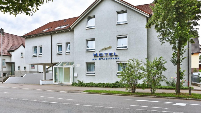 Fahrradfahrerfreundliches Hotel am Stadtpark in Sindelfingen