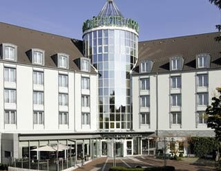 Motorrad LINDNER Hotel Airport in Düsseldorf