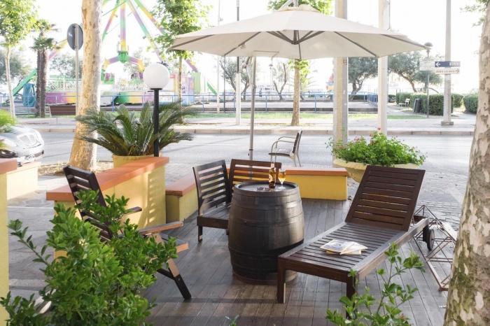 Fahrradfahrerfreundliches Hotel Mignon in Riccione