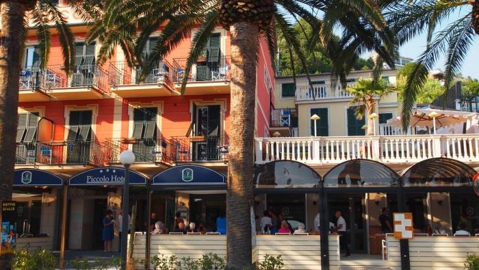 Fahrradfahrerfreundliches Hotel Piccolo in Moneglia (GE)