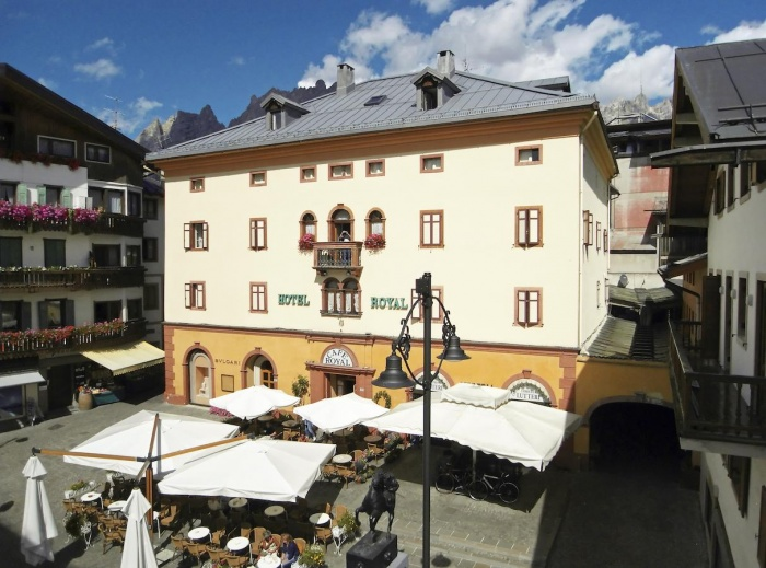 Fahrradfahrerfreundliches Hotel Meublé Royal in Cortina d Ampezzo