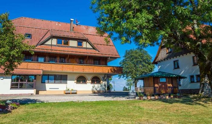 Fahrradfahrerfreundliches Landgasthof Solhof in Schömberg