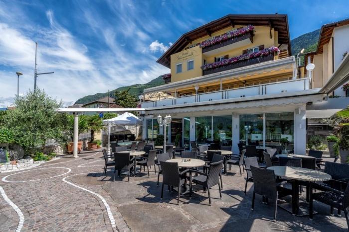 Motorrad Hotel Steinmannwald in Leifers Steinmannwald